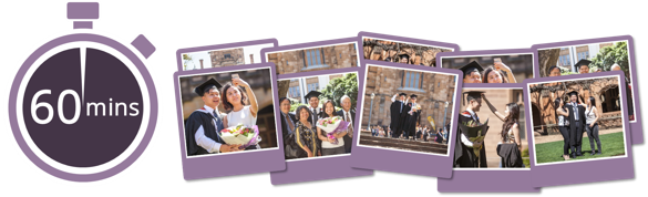 Book graduation photography at University of Melbourne - Best Value Package, $89